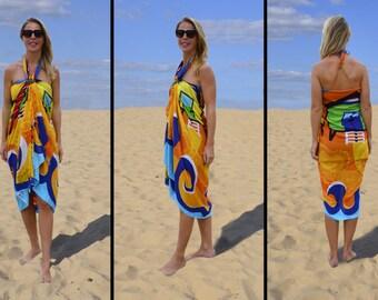 Pareo, beach towel, Danga Beach Cabins