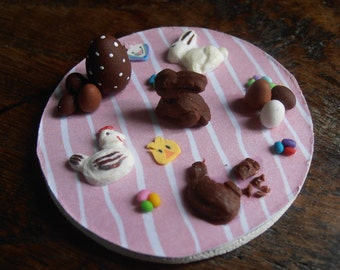 Magnet / magnet Easter Chocolate