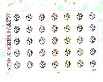 Takeout Containers Takeout Planner Stickers
