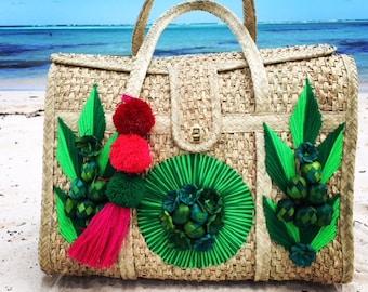 Green Beach Bag Sustainable Fashion