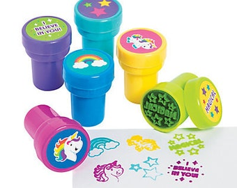 6/ My Sweet Unicorn Party Favors Stamps  / unicorn Party theme / Unicorn  / Unicorn Party/ Party favors