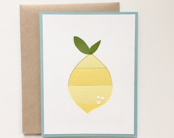 Lemon card - Spring Cleaning Sale