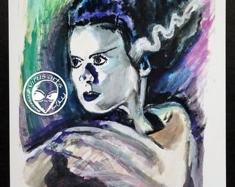 Bride of Frankenstein 8x10 PRINT