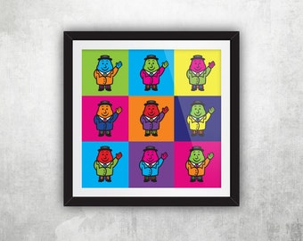 Mr Tayto – Warhol (Square)