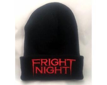 ON SALE!!! Fright Night beanie vampires 80's horror