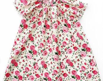 Rosie Rose Ruffle Dress
