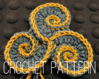 Crochet Pattern - Triskelion
