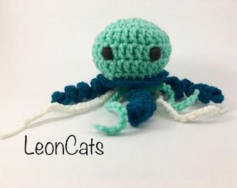 Crochet Catnip Jellyfish