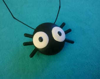 Star vs the Forces of evil inspired spider bug necklace pendant