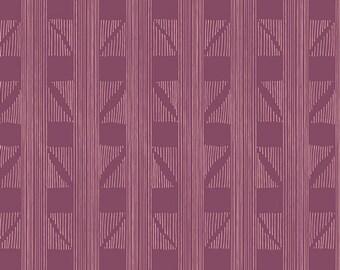 Expanded Aim Violet - Fleet & Flourish - HALF YARD - Art Gallery Fabric - Cotton Fabric - Quilting Fabric