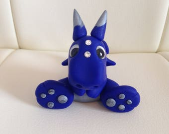 Monty Cute Polymer Clay Dragon