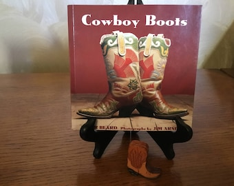 Small picture book on cowboy boots