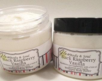 Black Raspberry Vanilla Body Butter Paraben Free Body Butter