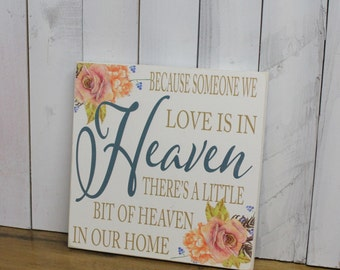 Because Someone We Lov is in HEAVEN there's a little bit of Heaven in our Home-Roses-Antique Roses-Sympathy-White-Brown-Uniform Blue