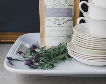 Pacific Coast Lavender & Chamomile Handcrafted Tea | ORGANIC  | Northwest Grown Herbs | Loose Leaf Tea