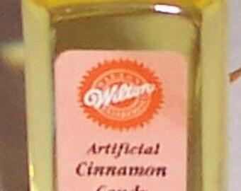 Wilton CINNAMON Candy Flavoring - 1/4 oz - BRAND NEW