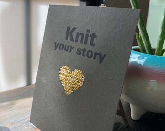 Knit Your Story Card