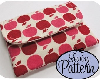 Basic Wallet PDF Sewing Pattern (Email Delivery)