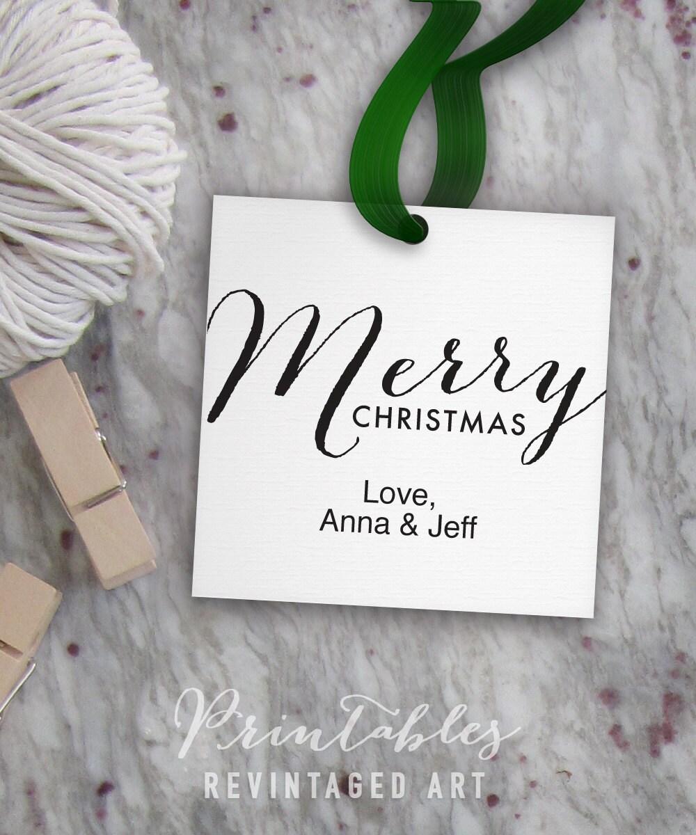 Printable christmas tags editable merry christmas tag template this is a digital file solutioingenieria Choice Image