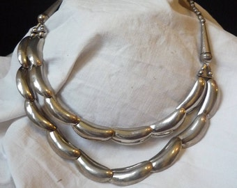 Necklace ethnic silver silver ethnic necklace