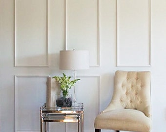 Removable Brooklyn Six Piece Applied Moulding Kit for Walls~ Get the custom, high-end look in your home with Luxe Architectural