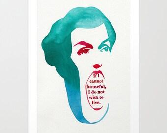 Last Words of Abigail Adams // Chromogenic Photographic Print