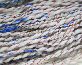 Handspun Merino Wool Super Bulky Art Yarn Americana