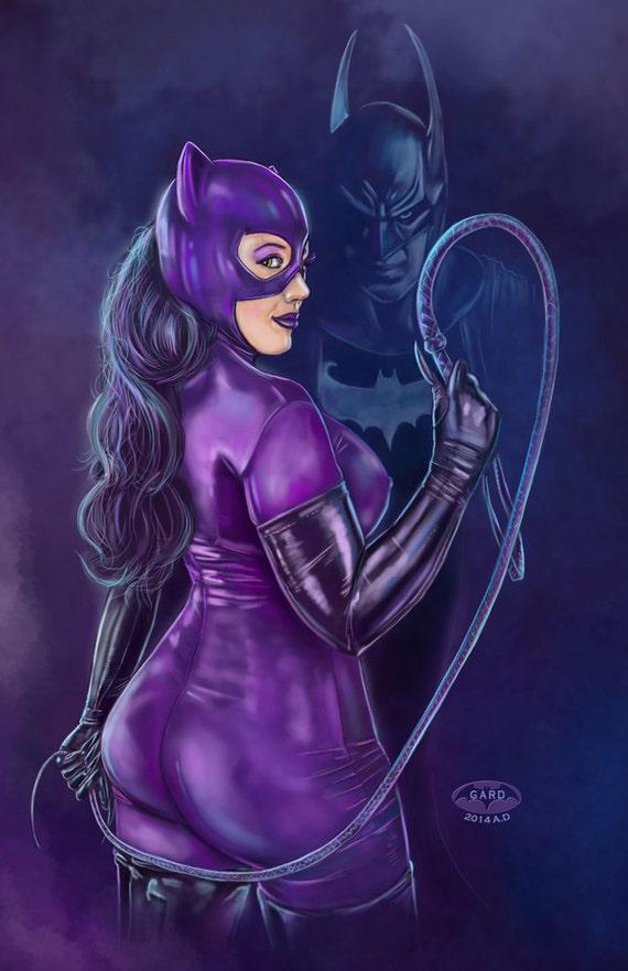 Catwoman & Batman (Whip)