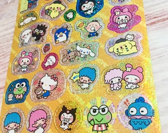 Sanrio Characters Stickers - Chibi