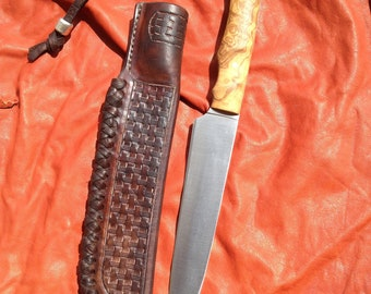 """Muela"" and handcrafted case knife"