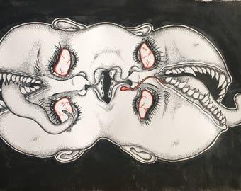 Mouths Prints