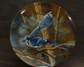 1985 Knowles The Blue jay Plate