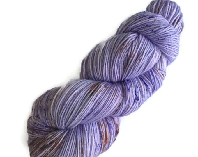 Super fine 19 micron Fingering hand - dyed wool Merino Nylon wool at bottom