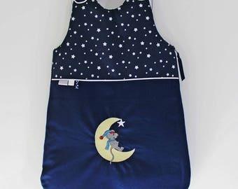 "Sleeping bag ""Starry night"" blue winter Navy 6 months."
