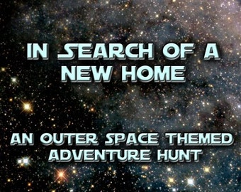 Outer Space Themed Treasure Hunt