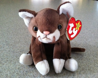 Vintage Ty Pounce the Cat Beanie Baby