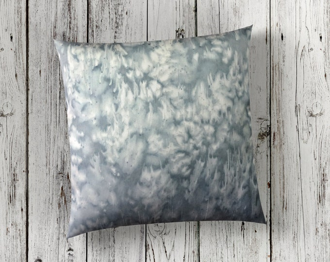 Gray Pillow-Watercolor Pillow-Neutral Nursery Decor-Neutral Throw Pillow-Boho Decor-Farmhouse Decor-Mother's Day Gift-Watercolor Home Decor