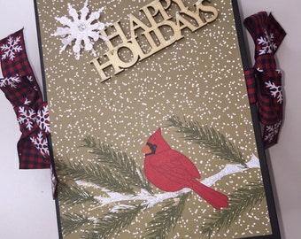 Christmas mini album, Christmas memory album, Holiday Mini Album