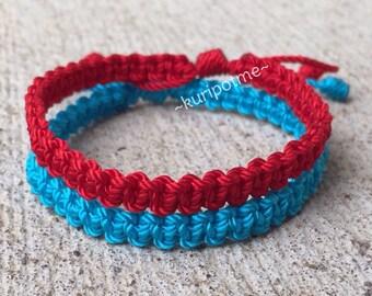 Simple Macrame Bracelet, Kabbalah Bracelet; made to order