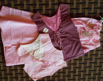 Bodice and Skirt set