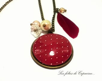 Great necklace cabochon. • wore woman •