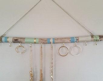 Driftwood Jewelry Organizer Different Sizes Hanging Jewelry