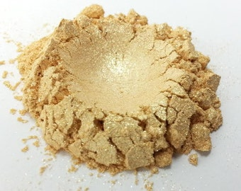 Golden Veil Shimmer Cosmetic Grade Mica - Ready to Wear