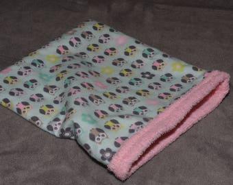 Bath snuggle sack
