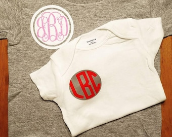 Monogram Shirt-Baby/Toddler/Youth