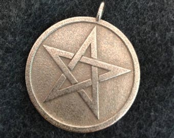 Solid Pentacle Pendant