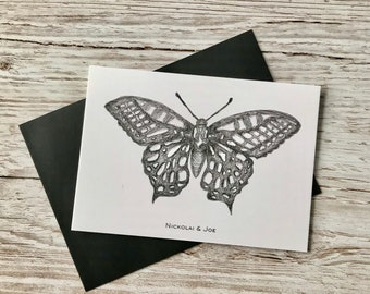 Butterfly Notecard / Postcard