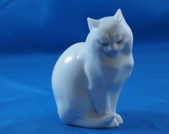 Herend Porcelain Cat Figurine