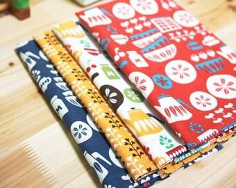 Scandinavian Retro Vintage   Kitchen Design Panel Fabric (4 Designs Package)