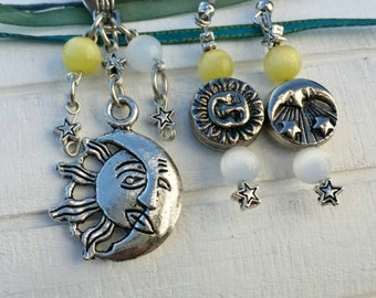 The Sky Above and Around Necklace Set
